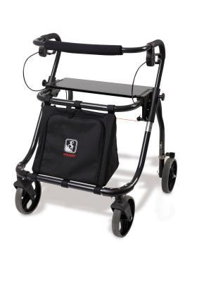 Jumbo XL méretű rollátor, táskával